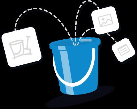 bucket-slide